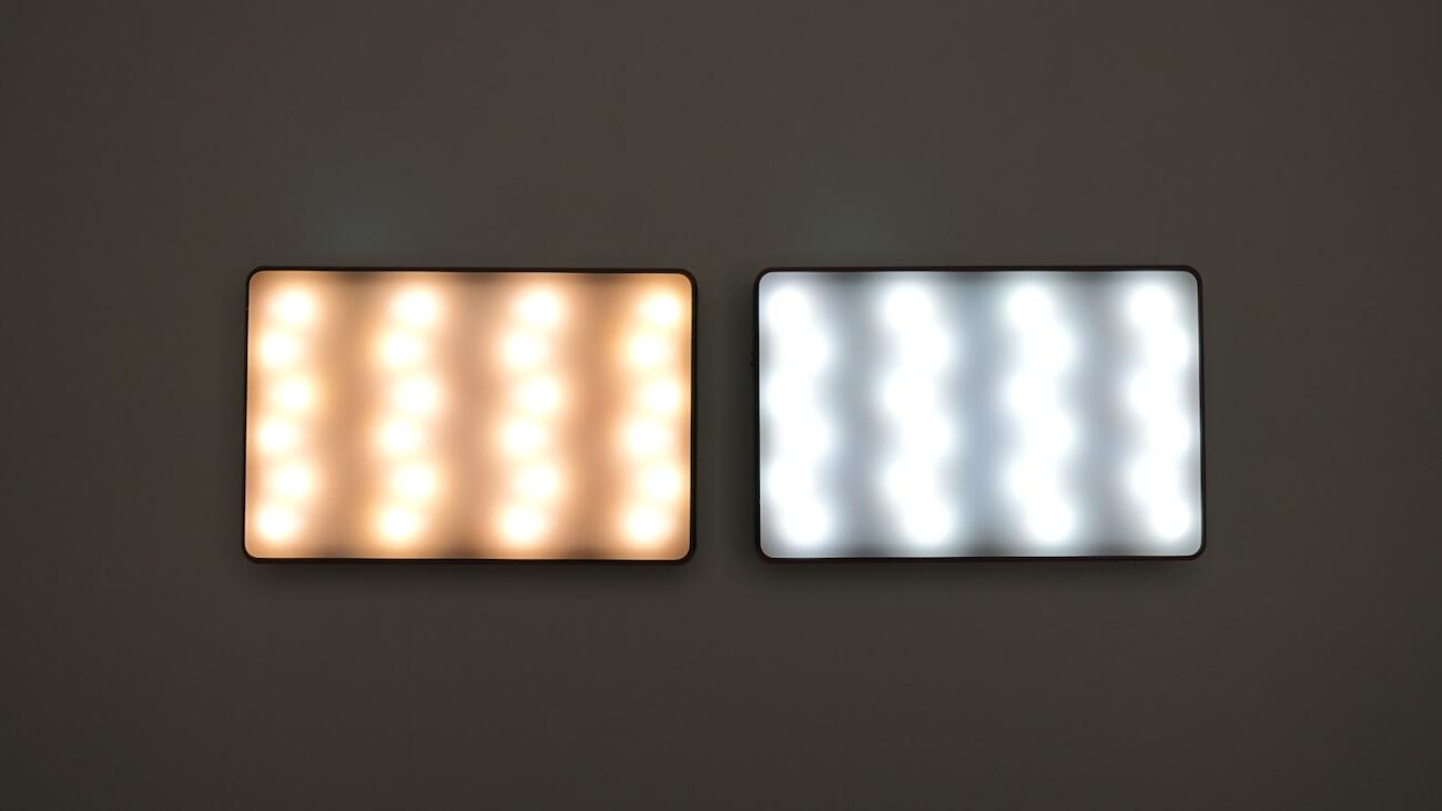 Aputure MCの色温度を比較