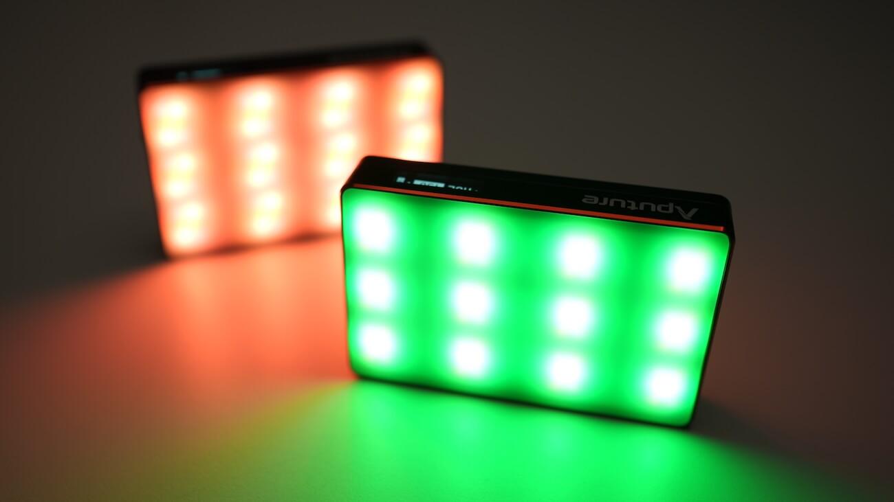 Aputure MCで色相・彩度・明度を調節