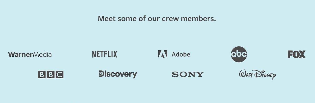 Motion Arrayとの実績がある企業のロゴ一覧