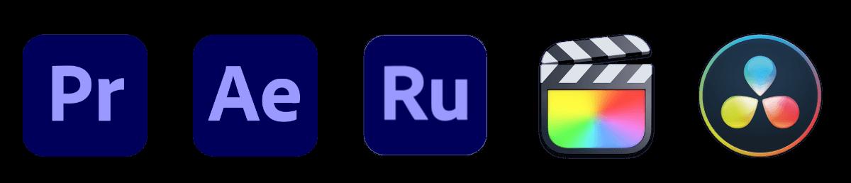動画編集ソフトのロゴ